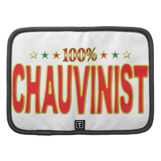 Chauvinist Star Tag Folio Planners