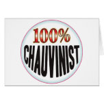 Chauvinist Tag Cards