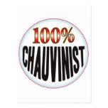 Chauvinist Tag Post Cards
