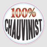 Chauvinist Tag Stickers