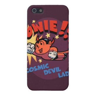 ¡Chaval cósmico del diablo! iPhone 5 Fundas