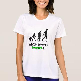 """Chaval """"Evolution_2 humano"""". Perforación. Camiseta"""