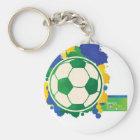 Chaveiro Brazil Series - Ball Keychain