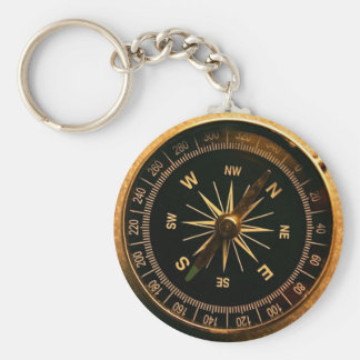 Chaveiro Compassing - Sea Style 2010 Basic Round Button Keychain