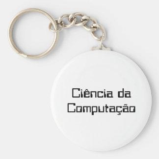 Chaveiro Computer science Keychain