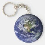 Chaveiro Planeta Terra Llavero Redondo Tipo Pin