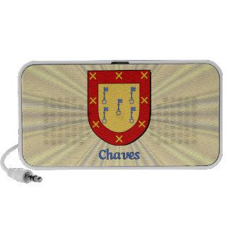 Chaves Heraldic Shield Mini Speaker