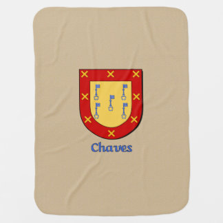 Chaves Heraldic Shield Swaddle Blanket
