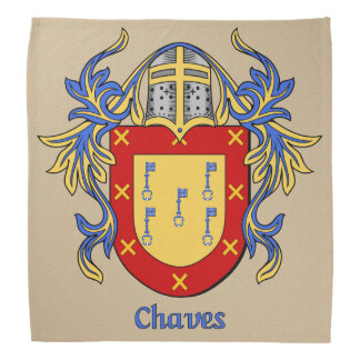Chaves Historical Coat of Arms Bandana