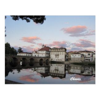 Chaves, Portugal Tarjetas Postales