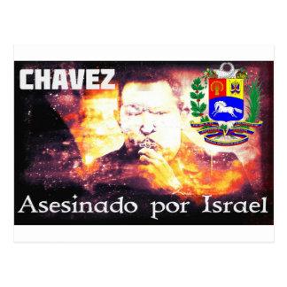 Chavez Asesinado por Israel Postcards
