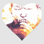 Chavez asesinó por Israel Pegatina En Forma De Corazón