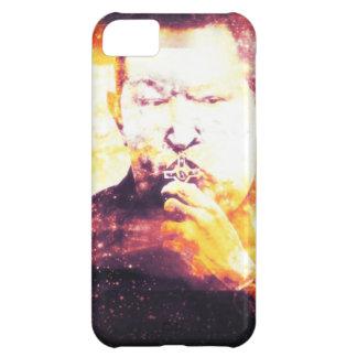 CHAVEZ besando un Crusifijo iPhone 5C Covers