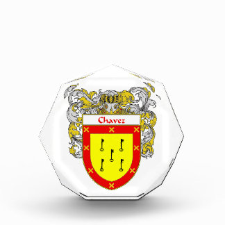 Chavez Coat of Arms Family Crest Awards