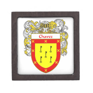 Chavez Coat of Arms/Family Crest Gift Box