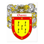 Chavez Coat of Arms (Mantled) Post Card