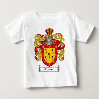 CHAVEZ FAMILY CREST -  CHAVEZ COAT OF ARMS BABY T-Shirt