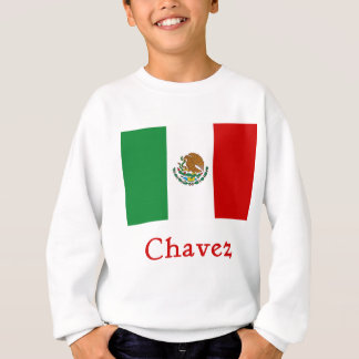 Chavez Mexican Flag Sweatshirt