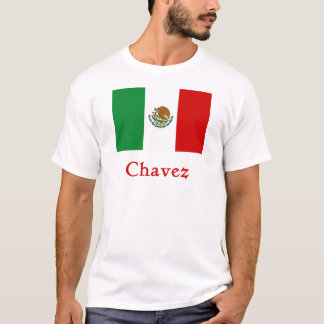 Chavez Mexican Flag T-Shirt