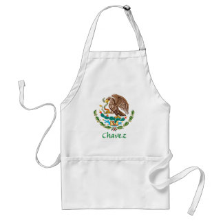 Chavez Mexican National Seal Adult Apron