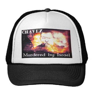 Chavez Murdered by Israel Trucker Hat