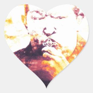 Chavez Murdered by Israel Heart Sticker