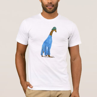 Chaving a Giraffe T-Shirt