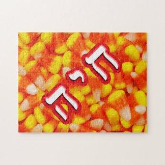 Chaya de las pastillas de caramelo puzzles con fotos
