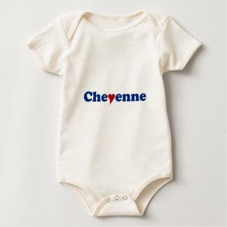 Chayenne con el corazón mameluco