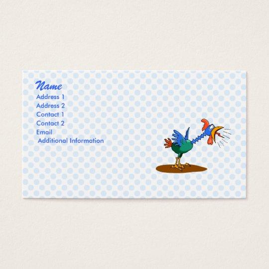 Chaz Chicken Business Card
