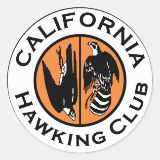 CHC Logo Printed Classic Round Sticker
