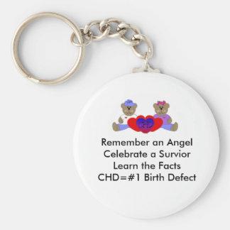 CHD Awareness Keychain
