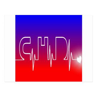 CHD EKG POSTCARD