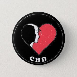 CHD Round Button- 2.25 inches Round Button
