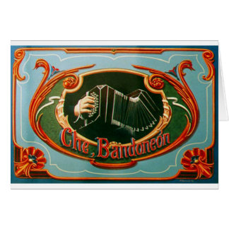 Che, bandoneon card