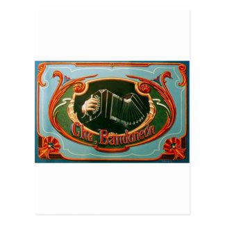 Che, bandoneon tarjeta postal