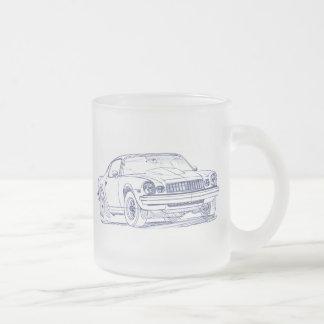Che Camaro 1975 Frosted Glass Coffee Mug