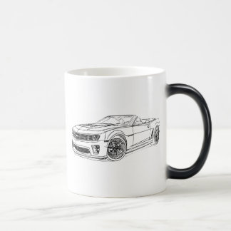 Che Camaro ZL1 Conv 2013 Magic Mug
