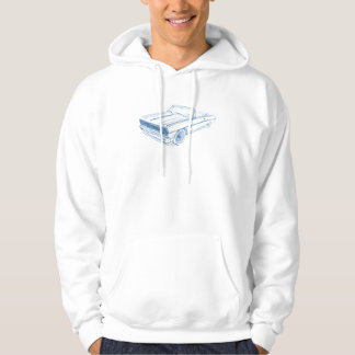 Che Chevelle 1964 Convertible Hoodie