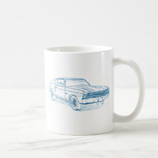 Che Chevelle 1972 Coffee Mug