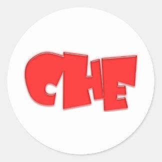 Che cool design! classic round sticker