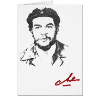 Che Guevara Card