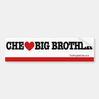 Che Guevara - Che Heart Big Brother: BumperSticker Bumper Sticker