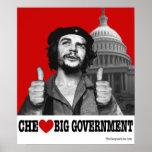 Che Guevara - Che Heart Big Government Poster