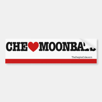 Che Guevara - Che Heart Moonbats: BumperSticker Bumper Sticker