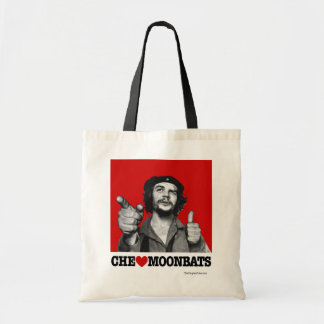Che Guevara - Che Heart Moonbats Tote Bag