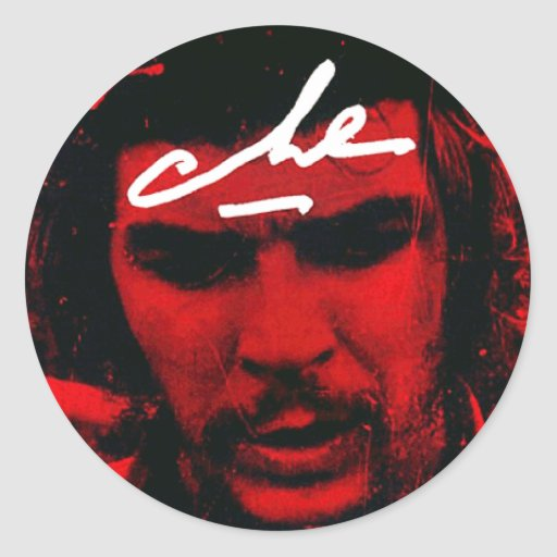 Che Guevara Classic Round Sticker