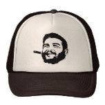 Che Guevara con el gorra del retrato del cigarro