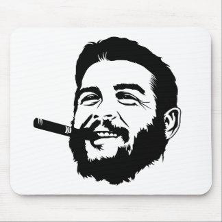 Che Guevara con el retrato Mousepad del cigarro