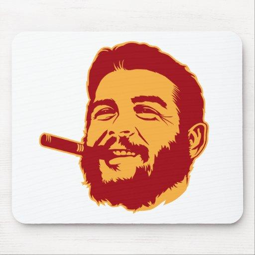 Che Guevara con el retrato Mousepad del cigarro Alfombrilla De Raton